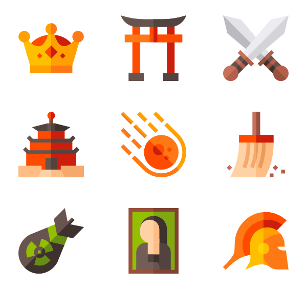 Temple icons free history. Png to vector illustrator transparent stock