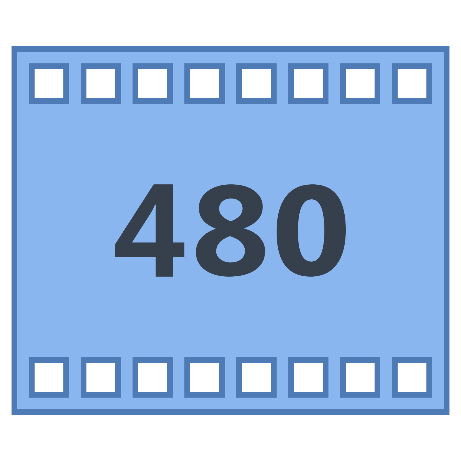 Png top blue movies. P icon free