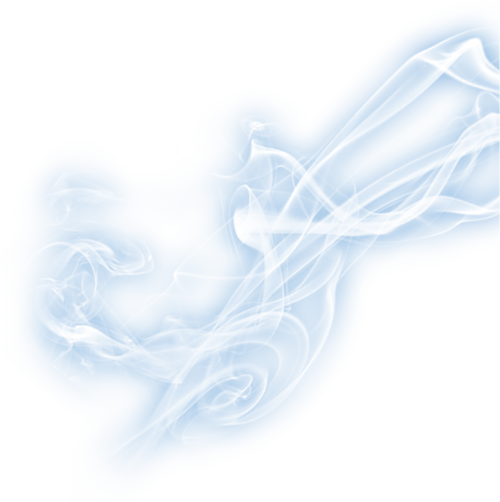 blue smoke png