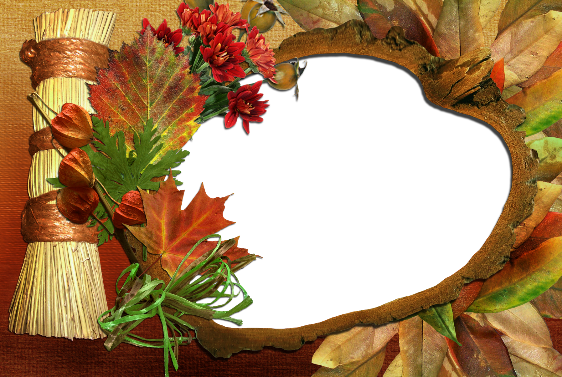 Transparent frame png. Fall gallery yopriceville high