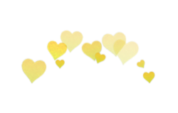 Hearts photobooth in different. Png tumblr heart banner transparent