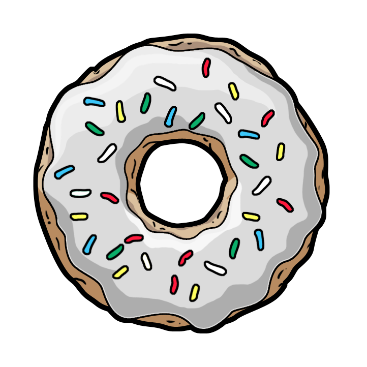 Png tumblr transparent donut. Pin by grazinha on
