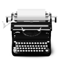 Typewriter png. Icon vintage icons softicons