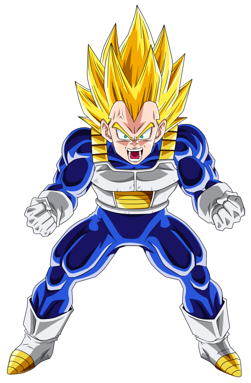 Png vegeta. Image colored by vicdbz