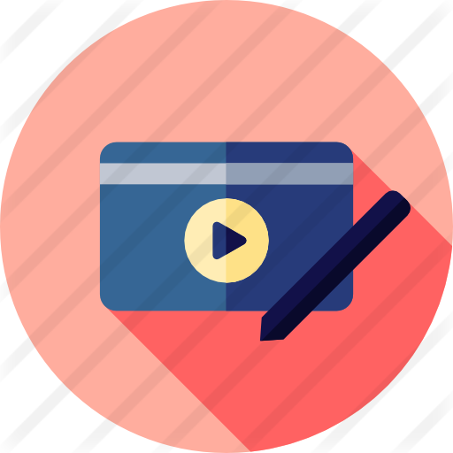 Video editing icon png. Free technology icons