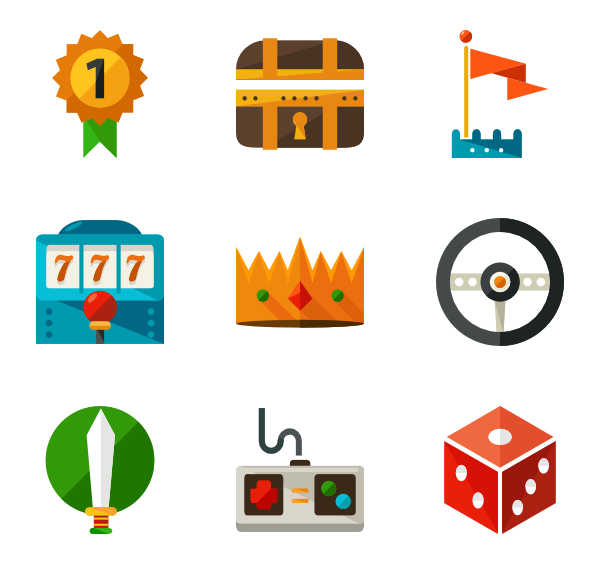 Png video games. Icon packs vector