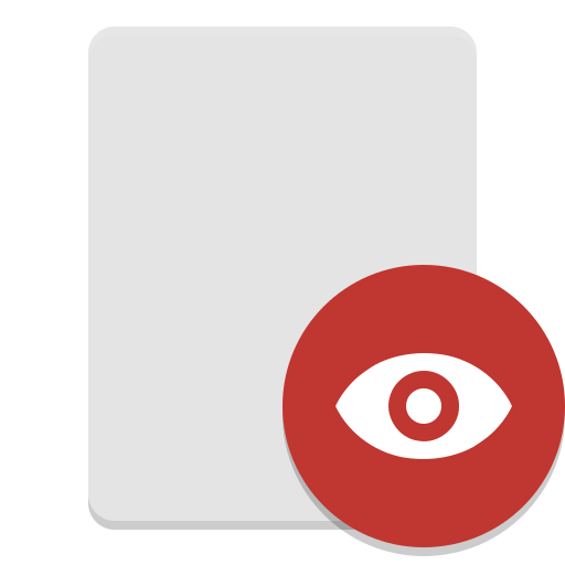 Photo viewer png. Document icon papirus apps