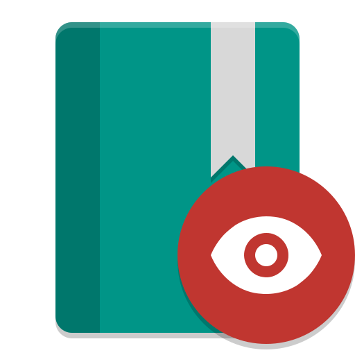Photo viewer png. Calibre icon papirus apps