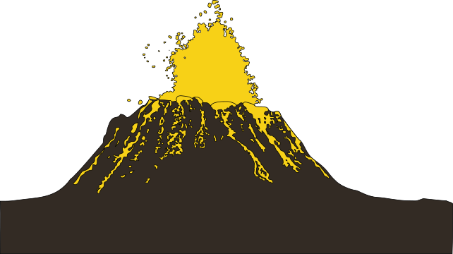 Transparent volcano svg. File hawai i eruption