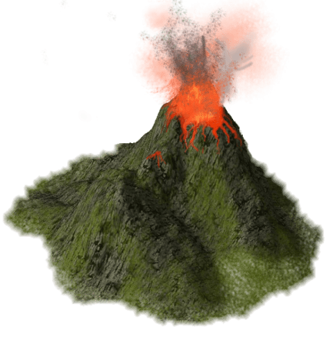 Png volcano. High quality free images