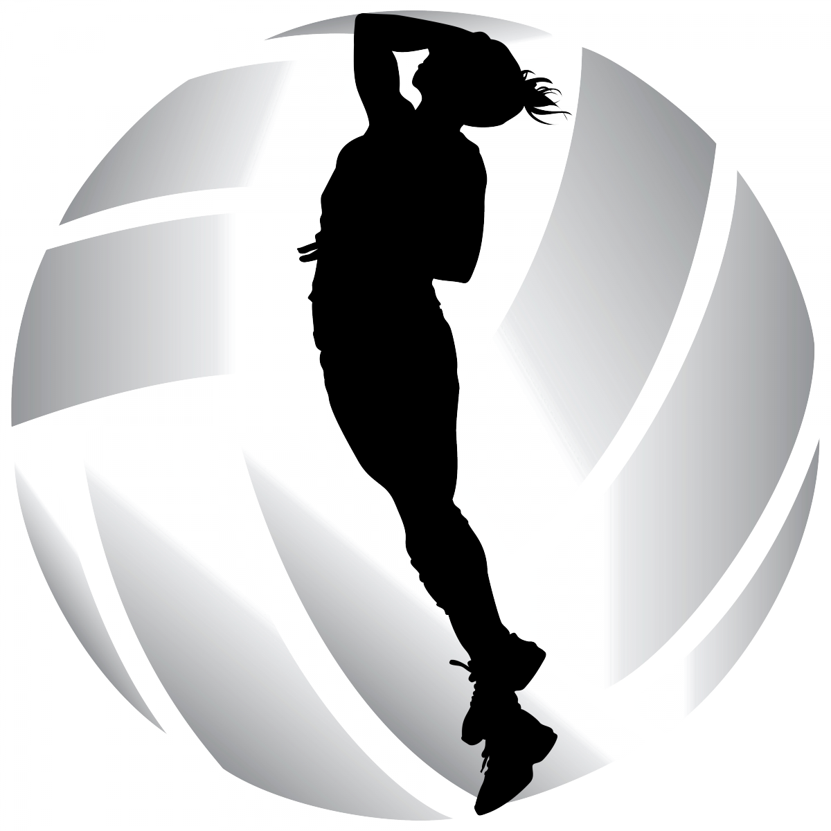Png volleyball team. Girls logo hires jackson
