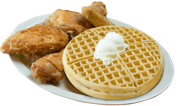 Waffle png chicken
