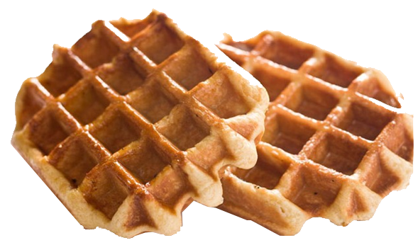 Belgian png images pluspng. Waffles transparent brown sugar free stock