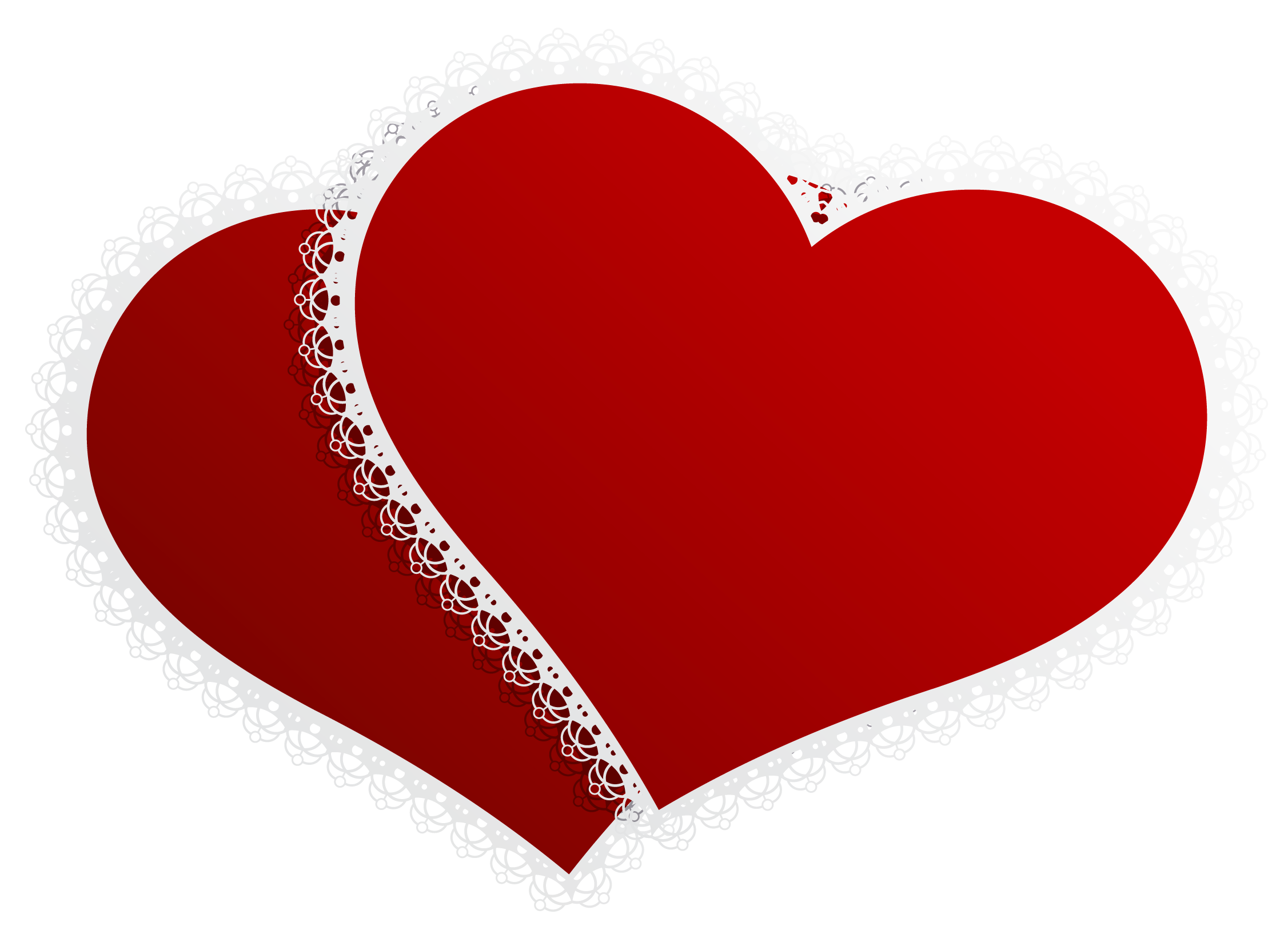 Png wedding clipart. Valentine double hearts decor