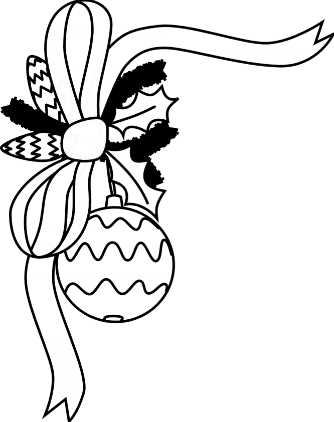 Png white ornaments. Christmas ornament clipart black