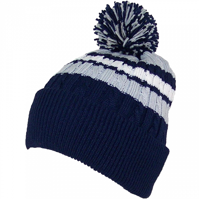 Png winter hat. Bwh quality cable knit