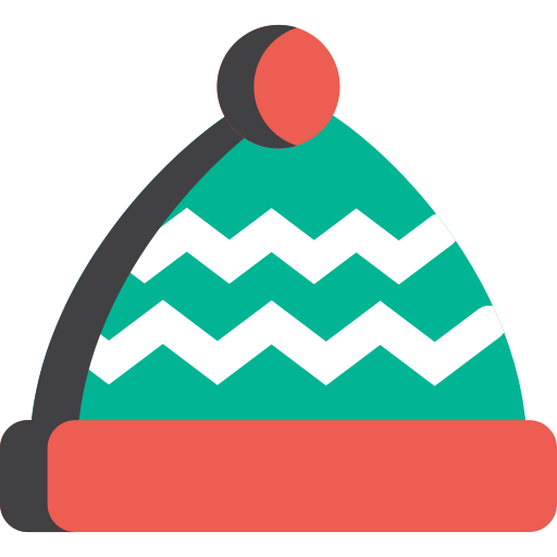 Png winter hat. Icon with and vector