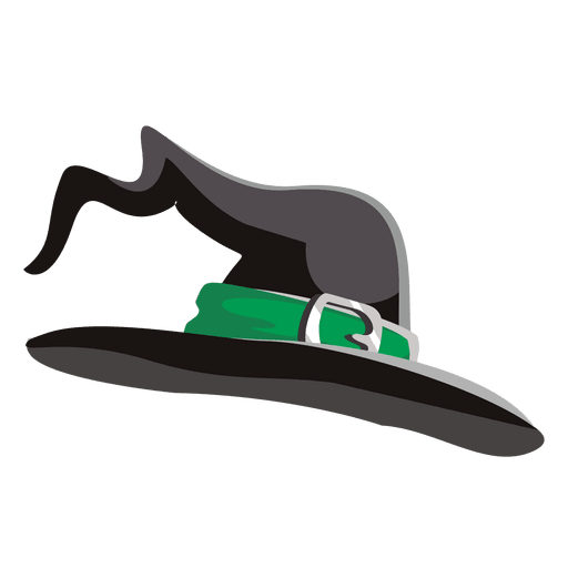 Png witch hat. Halloween transparent svg vector