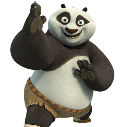 Po kung fu panda png. From legends of awesomeness