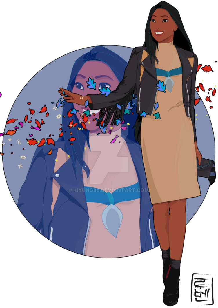 Pocahontas transparent native american. Disney university by hyung