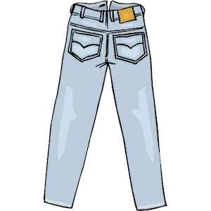 Pocket clipart pant pocket. Blue jeans free