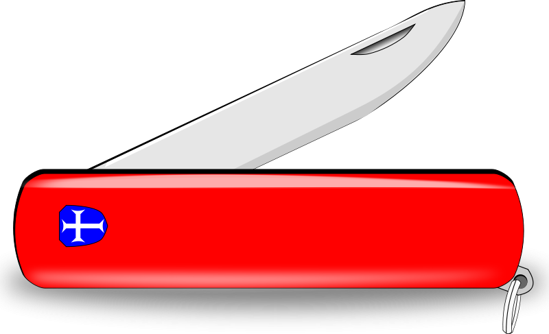Blade clipart animated. Pocket knife
