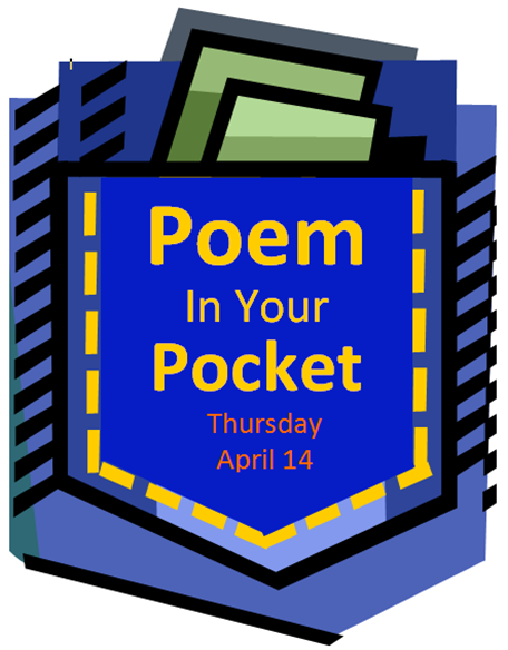 Pocket clipart poem in your pocket. Two libraries one voice