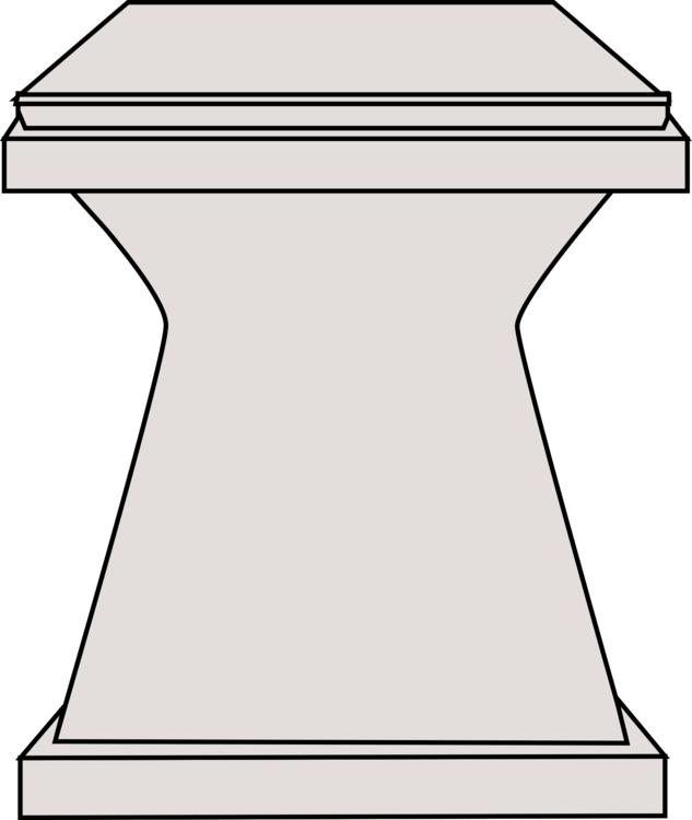 Pedestal drawing clipart. Computer icons column download