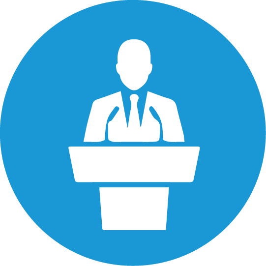 Public clipart conference speaker. Free icon download other