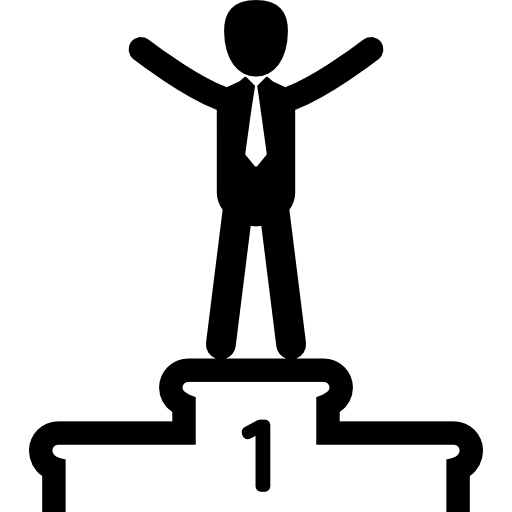 Podium clipart winner. On the icons free