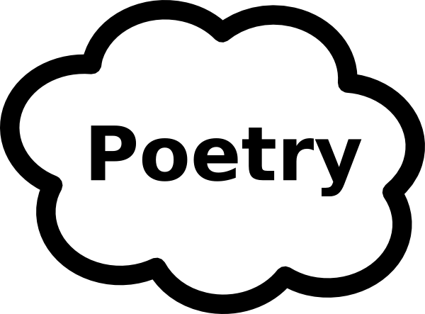 Poetry clipart. Book sign clip art