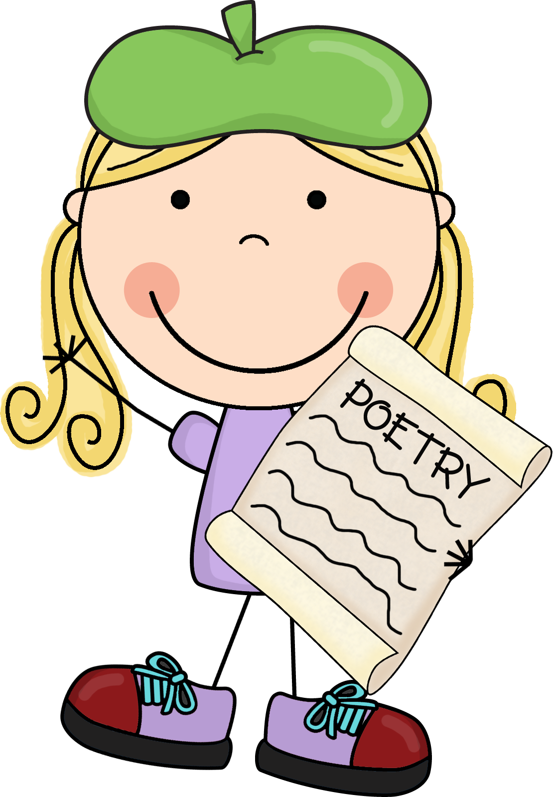 Poem clipart poem recitation. Poetry cilpart surprising i