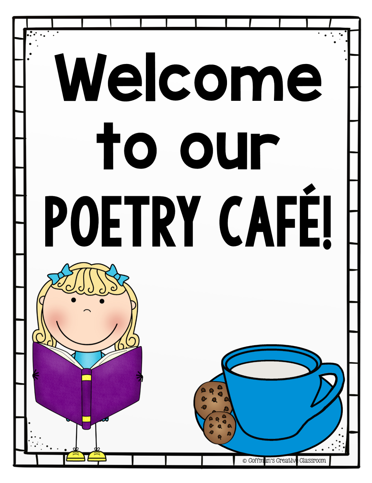 Poetry clipart author at work. Interactive ideas hojo s