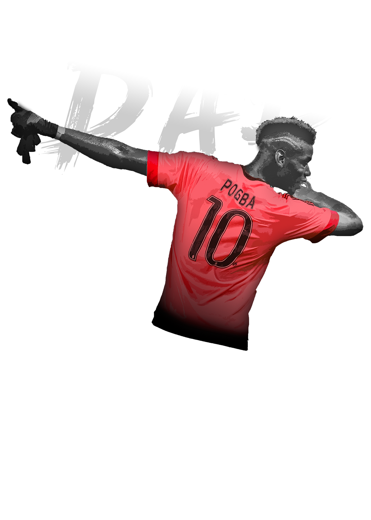 Pogba dab png. Paul on student show