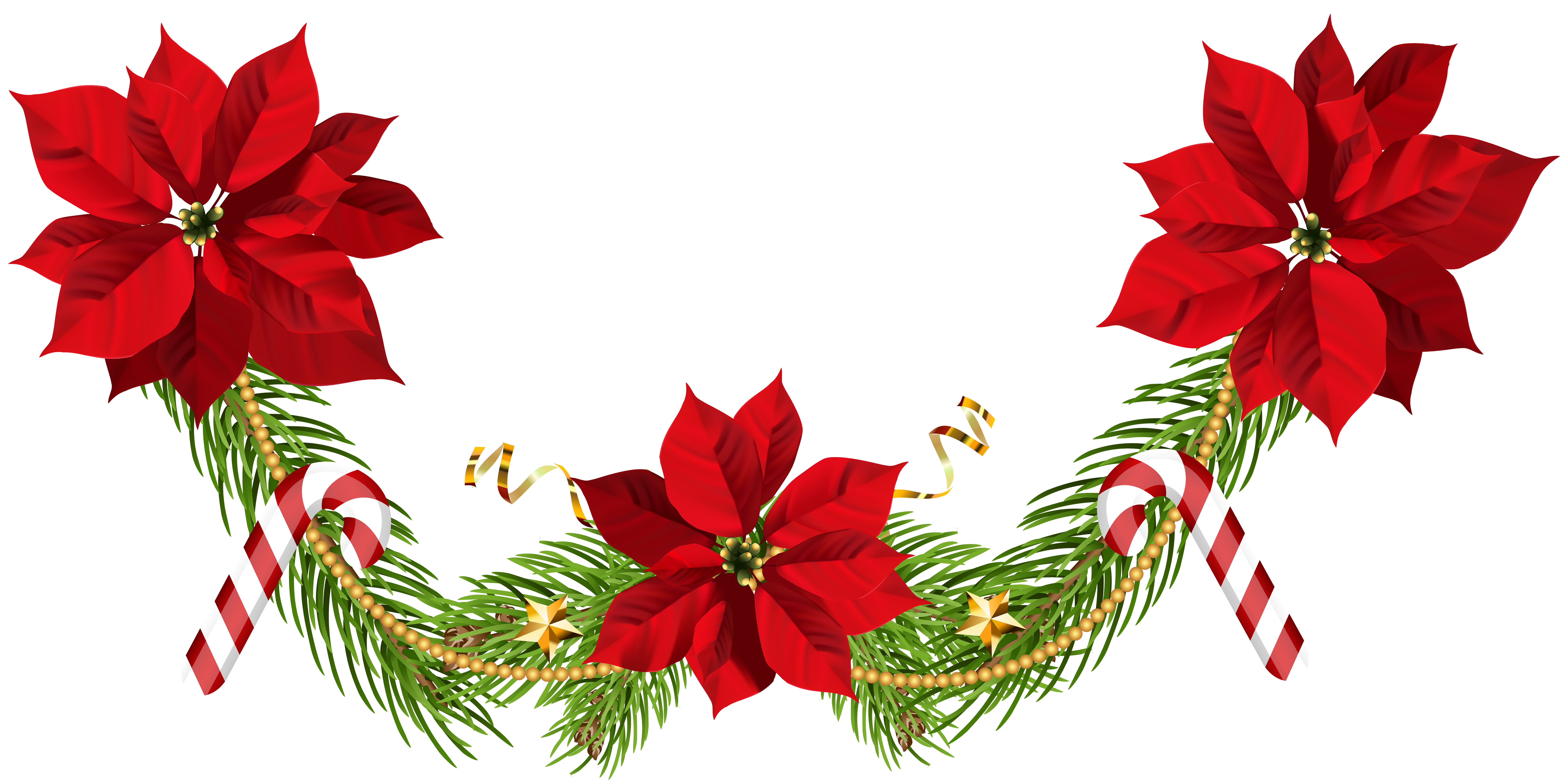 winter garland png