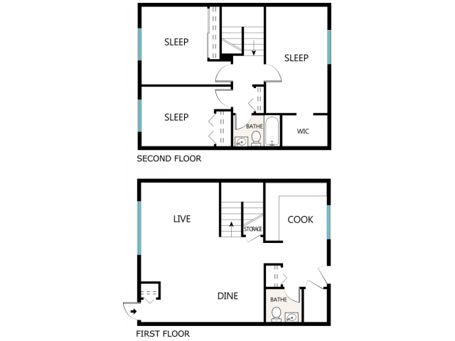 Point drawing bedroom. Bed bath apartment