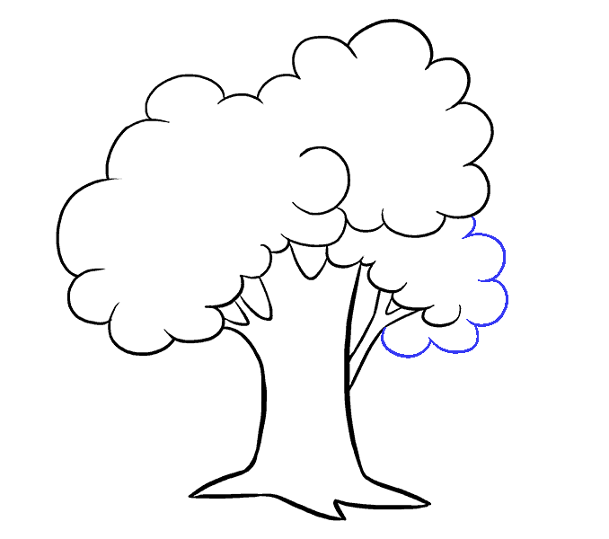 Point drawing forest. How to draw a