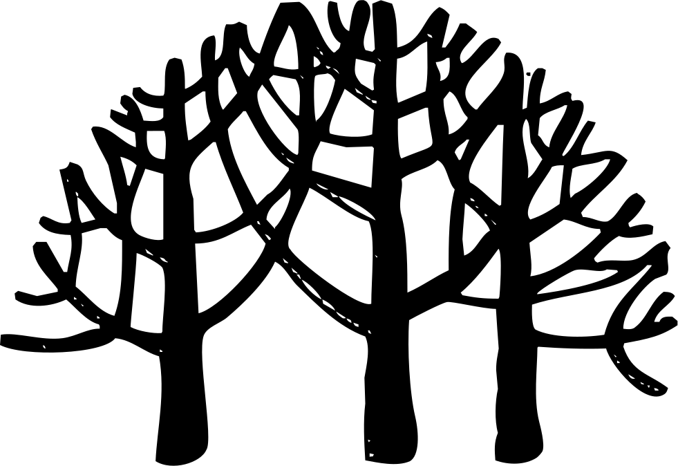 Point drawing forest. Tropical rain svg png