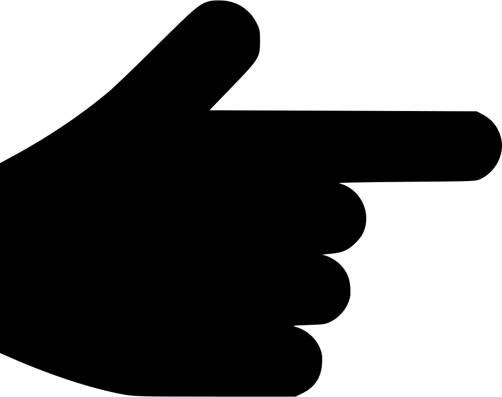 Pointer finger png. Hand point direction choice