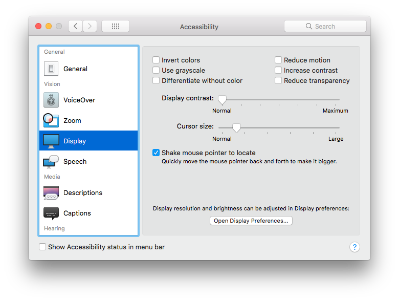 Pointer transparent macos. Losing mouse cursor on