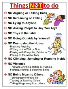 pointing clipart house rules