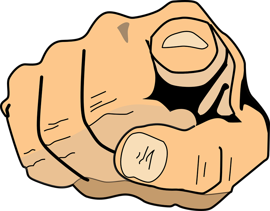 Pointing finger clipart png. At you transparent index