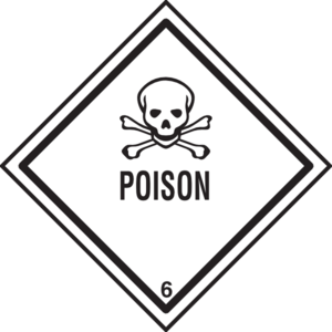 Poison clipart. Warning clip art at
