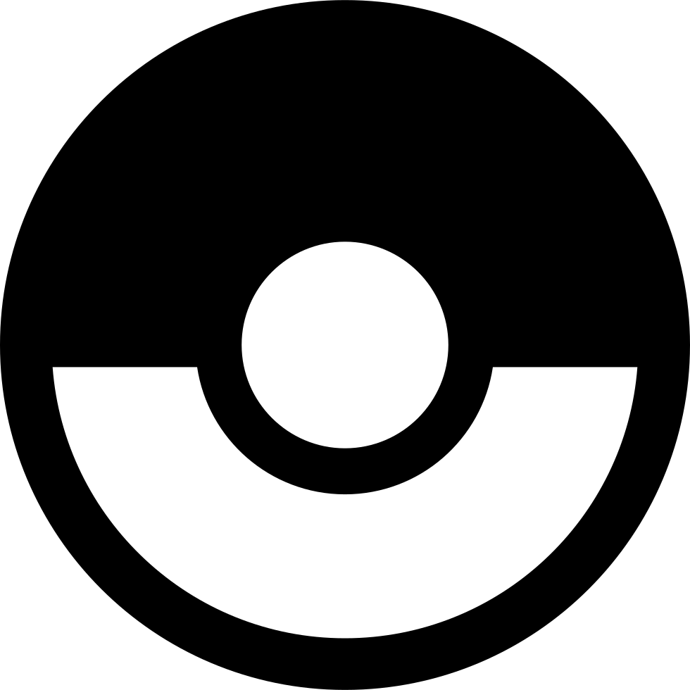 Pokeball outline png. Svg icon free download