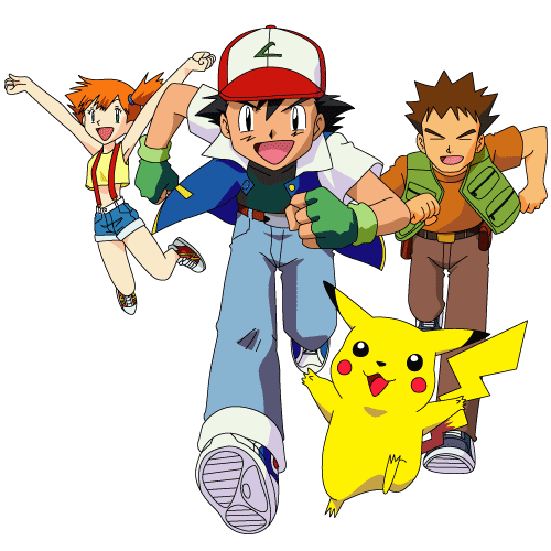 Pokemon ash png. Image friends group os