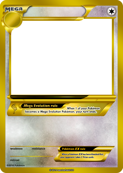 Pokemon card template png. Blank mega invitation templates