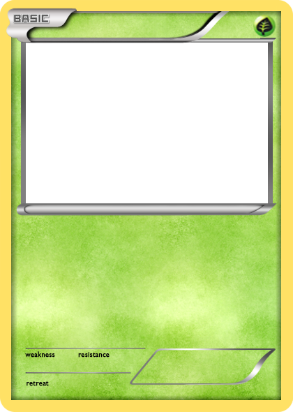 Pokemon card template png. Images of leseriail