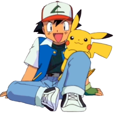 Pokemon clip ash. Image with pikachu png