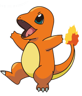 charmander vector graffiti