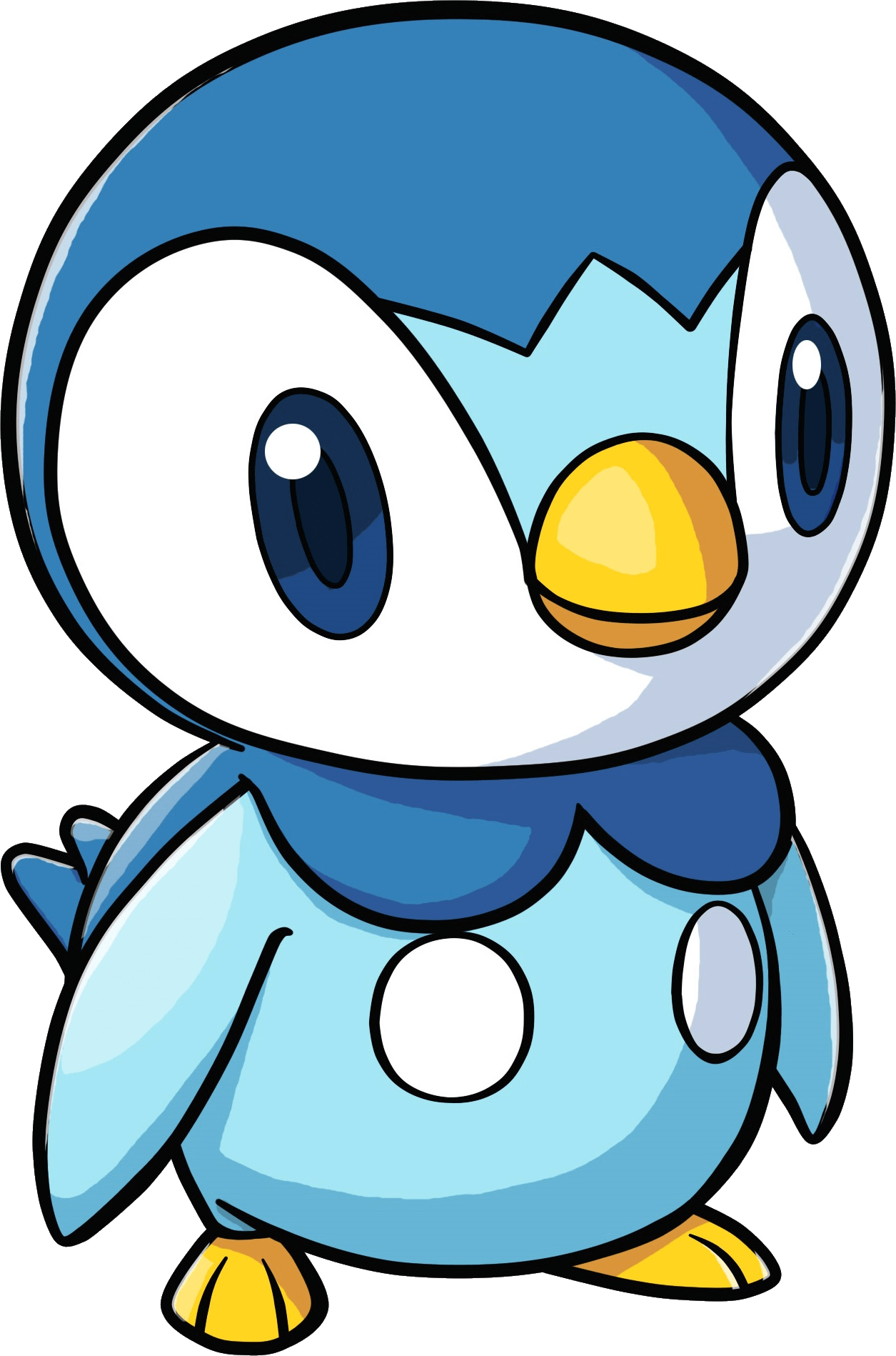 Piplup transparent. Pokemon png stickpng